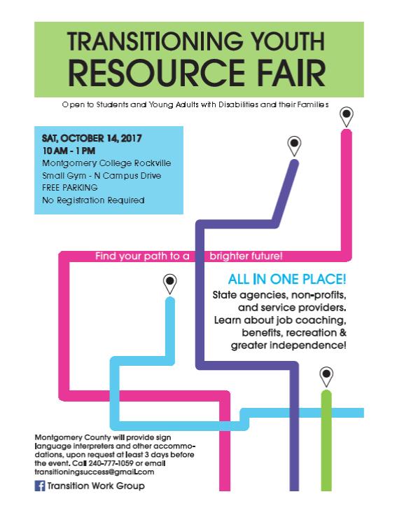 Transitioning Youth Resource Fair 2017 Jssa