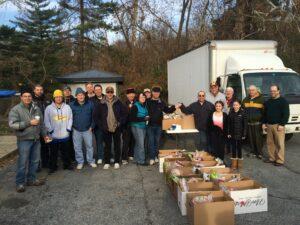 Thanksgiving Basket Delivery 2014