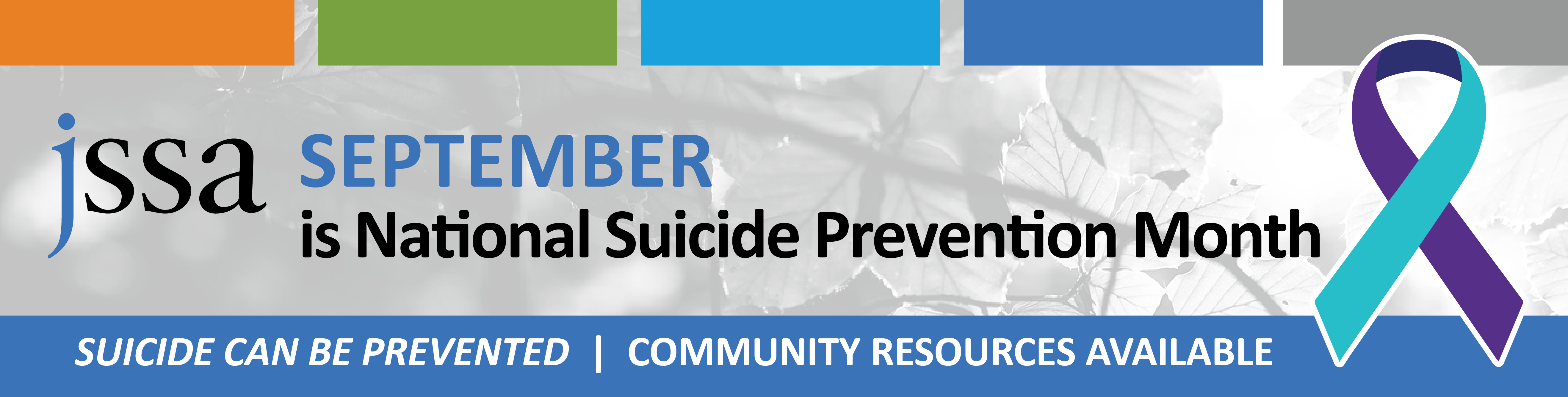 Suicide Prevention Month Homepage Here 2020