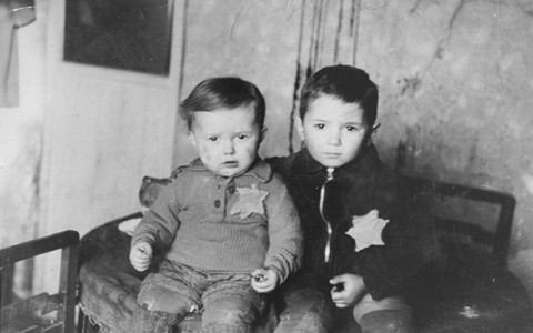Jewish children during the Holocaust