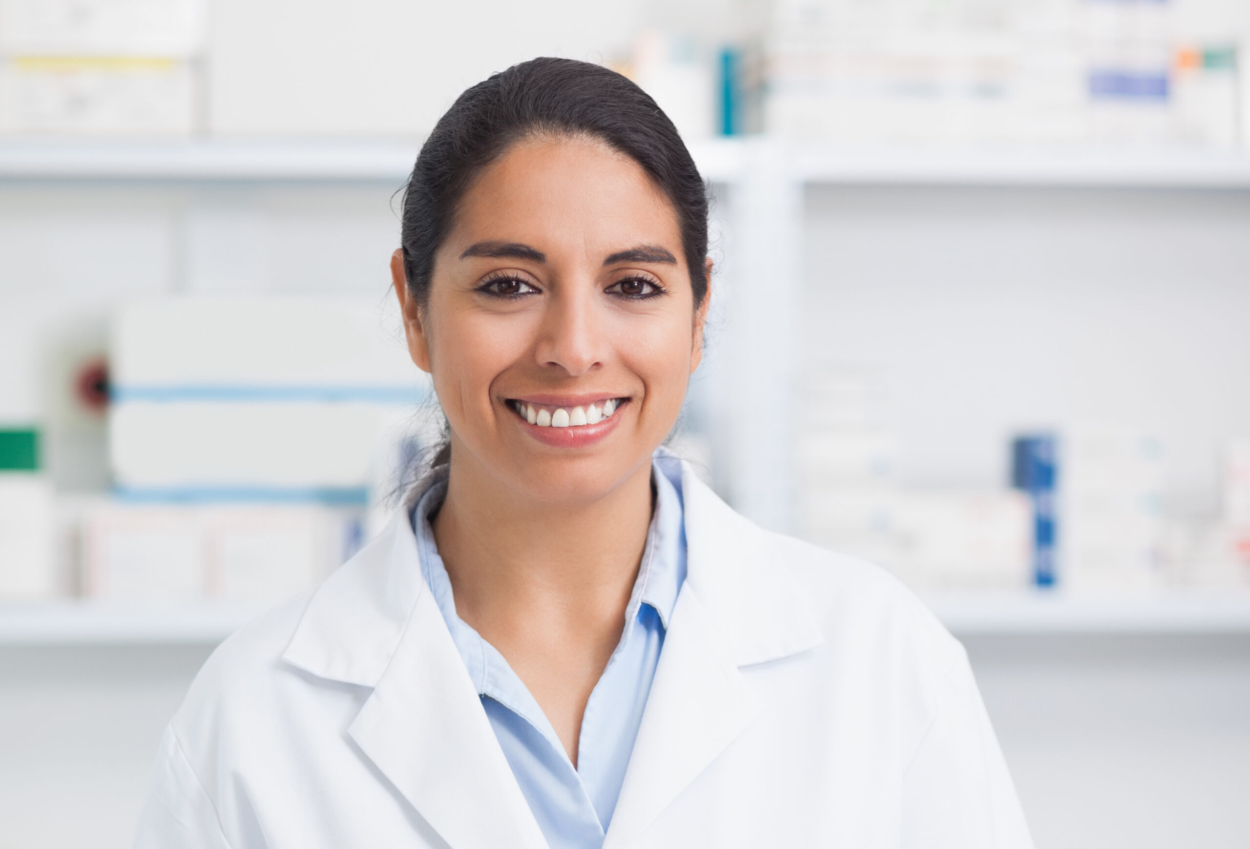 JSSA Specialized Employment services helped a young woman with autism get a pharmacy technician job
