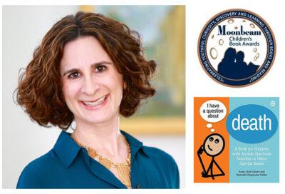 Arlen Gaines from JSSA Hospice wins Moonbeam Children's Book Award