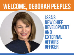 Deborah Peeples joins JSSA in Rockville, MD
