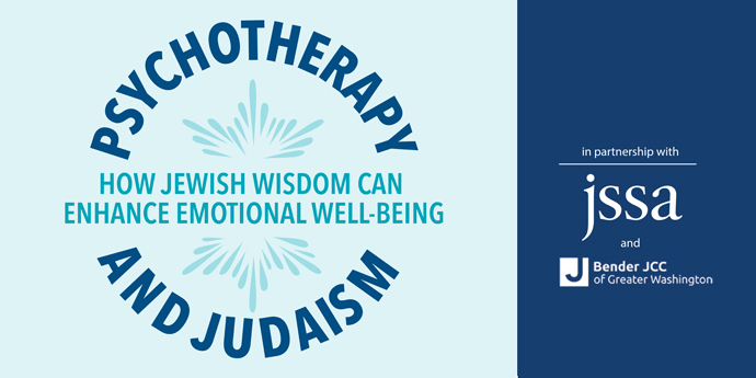 Psychotherapy and Judaism Symposium: JSSA Training Institute CE program