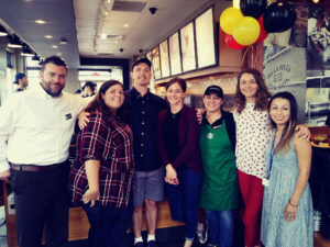 JSSA Client Gets Special Olympics Send-Off From Starbucks