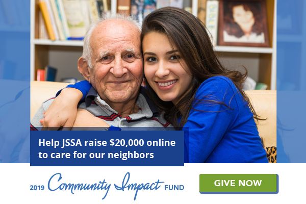 Help JSSA raise $20,000 to care for our neighbors