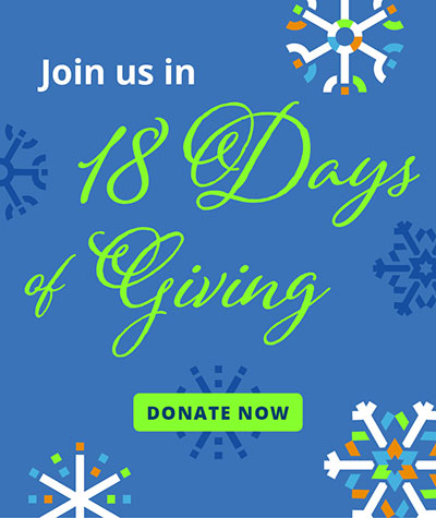 Join us in 18 Days of Giving